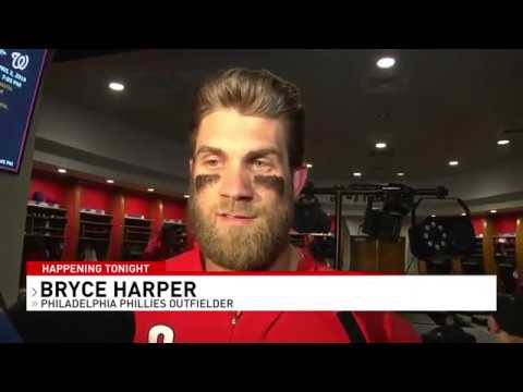 Bryce Harper returns to D.C. for first game against the Nationals