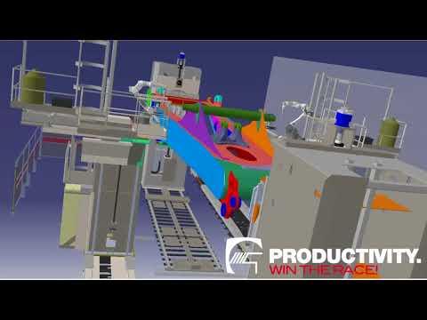 Custom Modular Robotic Welding System for Mining Equipment