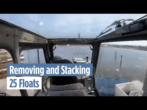 Removing and Stacking 25 Floats