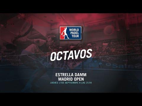 DIRECTO | OCTAVOS Madrid Open | World Padel Tour 2015