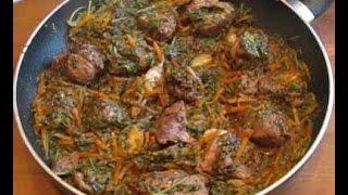 видео Приготовление баранины с овощами в казане