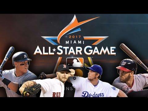 2017 MLB ALLSTAR GAME STARTING LINEUPS! WHO GOT SNUBBED?