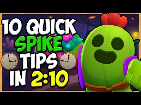 10 QUICK Tips About: Spike🌵  Brawl Stars