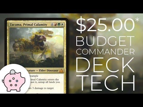 Zacama, Primal Calamity | EDH Budget Deck Tech $25 | Combo | Magic the Gathering | Commander