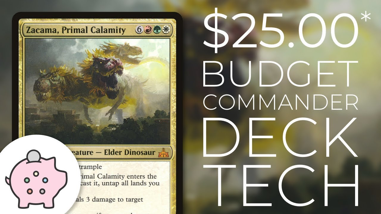 Zacama, Primal Calamity   EDH Budget Deck Tech $25   Combo   Magic the  Gathering   Commander
