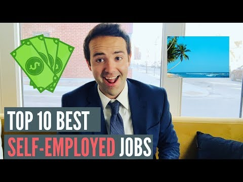 Top 10 Best Self Employed Jobs