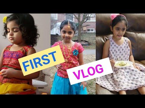 #FirstVlog   Angel Kids World   Krithika & Arshi Channel   SasikalaTV    Venkat Vattikuti
