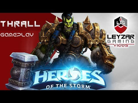 Heroes of the Storm (Gameplay) - Thrall Meta Build (HotS Thrall Gameplay Quick Match)