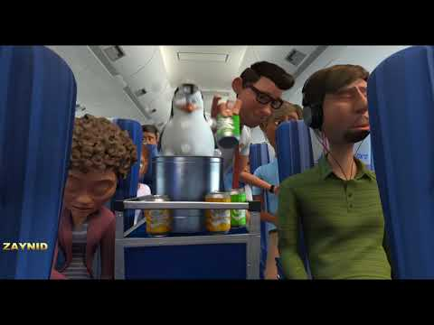 Пингвины в самолёте\\ Пингвины из Мадагаскар