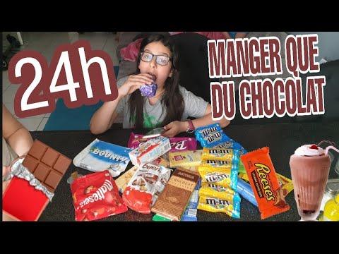 JE MANGE QUE DU CHOCOLAT PENDANT 24H ET FOIRE DU TRÔNE! :JE VOMIS DANS LES MANÈGES!!!