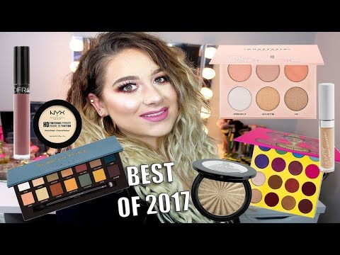 BEST MAKEUP OF 2017 | DRUGSTORE & HIGH END