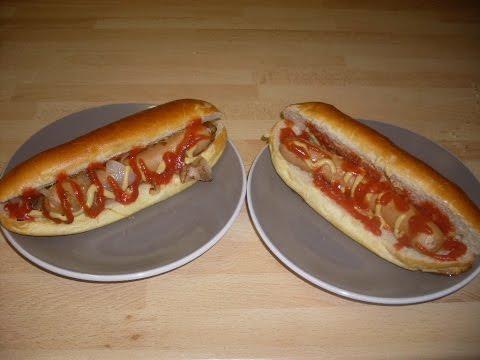 Recette des vrais HOT-DOG à l'AMERICAINE  - Recette facile