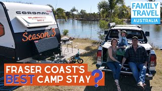 TRINITY ISLANDS – WOW! | Fraser Coast's Best Camp Stay? | Caravanning Family Travel Australia EP 46