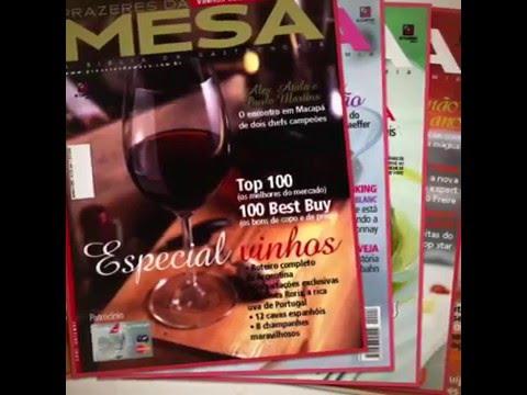 As primeiras capas da Prazeres da MESA
