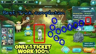 Trick Refresh Monster Myst Only 1 Ticket Work 100% - Pokeland Legends (Pocket Arena)