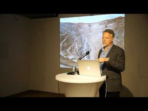 LECTURE - EDWARD BURTYNSKY in the exhibition Water at KUNST HAUS WIEN 23.3.2017