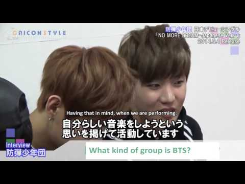[ENG] 140528 BTS Oricon Interview | ABS