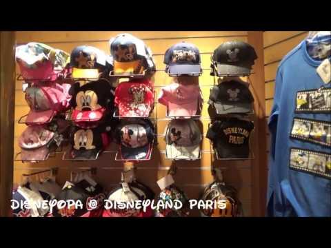 Disneyland Paris New York Boutique Shop walkthrough DisneyOpa Hotel New York