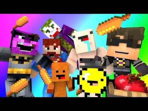 Minecraft Mini-Game : DO NOT LAUGH! (MAX THE CORNDOG & THE SUICIDE SQUAD!) w/ Facecam