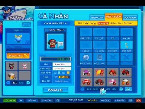 Bán 2 acc Boom Online SV HCM.