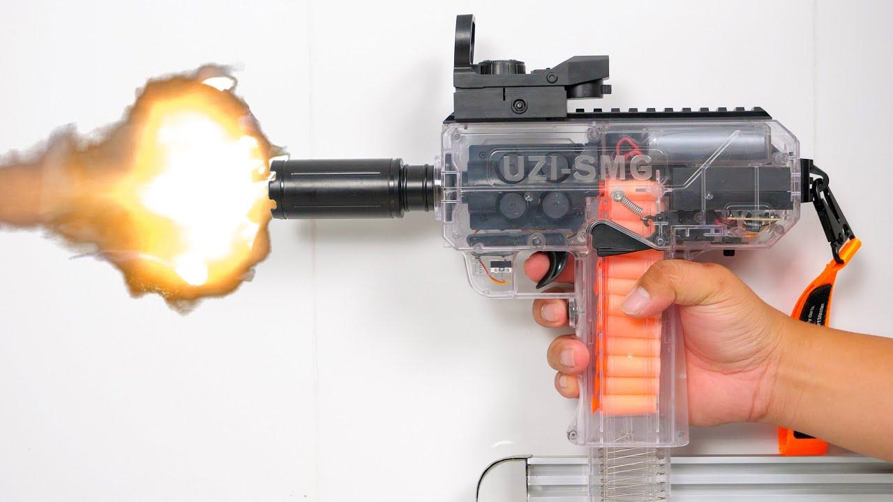 NERF GUN UZI SMG GUN TOY PISTOL
