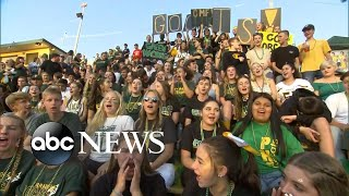 The town of Paradise celebrates 1st high school football game since wildfires