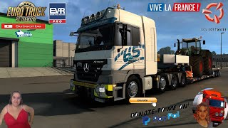 Euro Truck Simulator 2 (1.39)   Mercedes-Benz Actros MP2 by Dotec v1.0[1.39] Delivery to Bourges DLC Vive la France by SCS Heavy Job Doll 3Axles Owned Trailer Version 8.0 by Roadhunter animated gates in companies v3.7 [Schumi] Real Company Logo v1.0 [Schumi] Company addon v1.9 [Schumi] Trailers and Cargo Pack by Jazzycat Motorcycle Traffic Pack by Jazzycat FMOD ON and Open Windows Naturalux Graphics and Weather Spring Graphics/Weather v3.6 (1.38) by Grimes Test Gameplay ITA Europe Reskin v1.0 + DLC's & Mods https://forum.scssoft.com/viewtopic.php?f=35&t=289988  For Donation and Support my Channel https://paypal.me/isabellavanelli?loc...  SCS Software News Iberian Peninsula Spain and Portugal Map DLC Planner...2020 https://www.youtube.com/watch?v=NtKeP... Euro Truck Simulator 2 Iveco S-Way 2020 https://www.youtube.com/watch?v=980Xd... Euro Truck Simulator 2 MAN TGX 2020 v0.5 by HBB Store https://www.youtube.com/watch?v=HTd79...  All my mods I use in the video Promods map v2.51 https://www.promods.net/setup.php Traffic mods by Jazzycat https://sharemods.com/hh8z6h9ym82b/pa... https://sharemods.com/lpqs4mjuw3h6/ai... https://ets2.lt/en/painted-bdf-traffi... https://sharemods.com/eehcavh87tz9/bu... Graphics mods https://download.nlmod.net/ https://grimesmods.wordpress.com/2017... Europe Reskin https://forum.scssoft.com/viewtopic.p... Trailers pack https://ets2.lt/en/trailers-and-cargo... https://tzexpress.cz/ Others mods Company addon v1.8 [Schumi] https://forum.scssoft.com/viewtopic.p... Real Company Logo v1.3 [Schumi] https://forum.scssoft.com/viewtopic.p... Animated gates in companies v3.8 [Schumi https://forum.scssoft.com/viewtopic.p...  #TruckAtHome #covid19italia Euro Truck Simulator 2    Road to the Black Sea (DLC)    Beyond the Baltic Sea (DLC)   Vive la France (DLC)    Scandinavia (DLC)    Bella Italia (DLC)   Special Transport (DLC)   Cargo Bundle (DLC)   Vive la France (DLC)    Bella Italia (DLC)    Baltic Sea (DLC) Iberia (DLC)   American Truck Simulator New