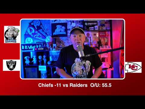 Kansas City Chiefs vs Las Vegas Raiders NFL Pick and Prediction Sunday 10/11/20 Week 5 NFL Betting