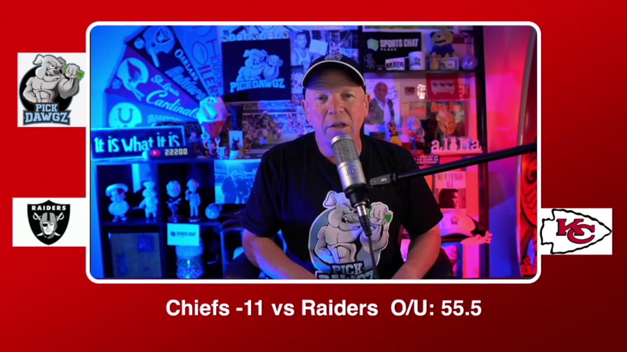 Chiefs vs. Raiders odds, prediction, betting trends for NFL's 'Sunday ...