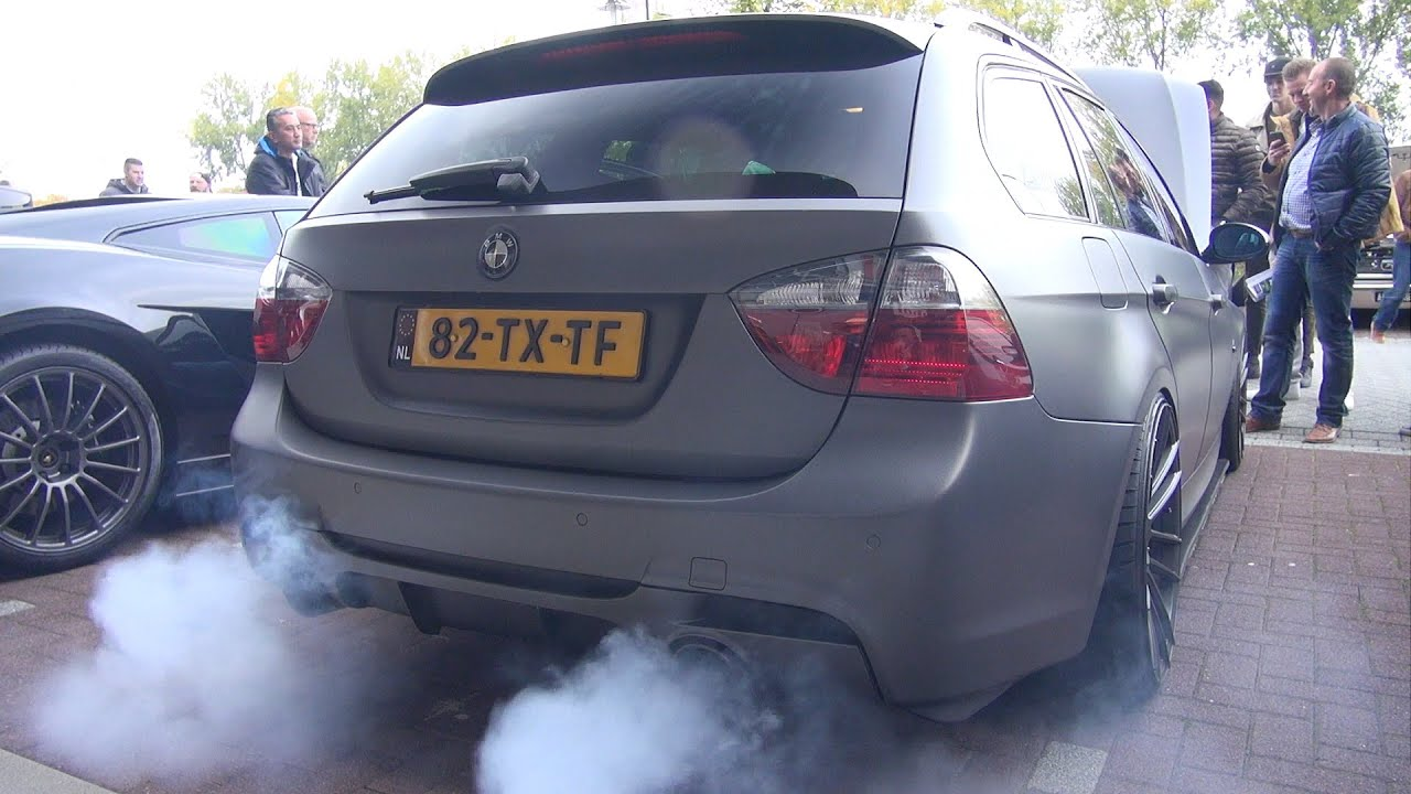 800hp Bmw 335i E91 W Akrapovic Exhaust Revs