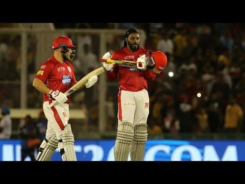 SRH VS KXIP || VIVO IPL 2018 || CHRIS GAYLE  INTERVIEW HYDERABADI STYLE