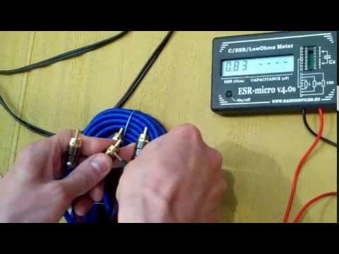 Замер сопротивления линейного кабеля PRIDE
