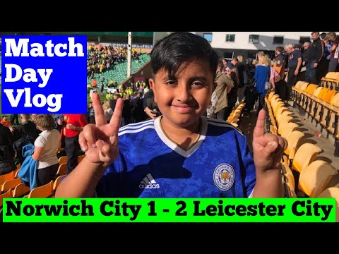 Norwich City 1-2 Leicester City. Leicester bringing back 3 points from Carrow Road. indir