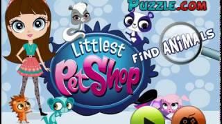 Мультик игра Маленький зоомагазин: Найди животных (Littlest Pet Shop Find Animals)