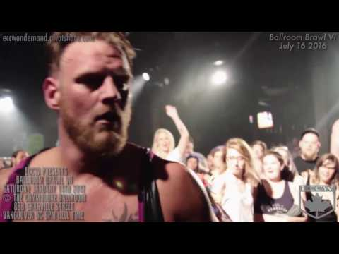 "ECCW MOTW ""No Holds Barred Retirement Match"" Sid Sylum Vs Bishop w/ The Natural"