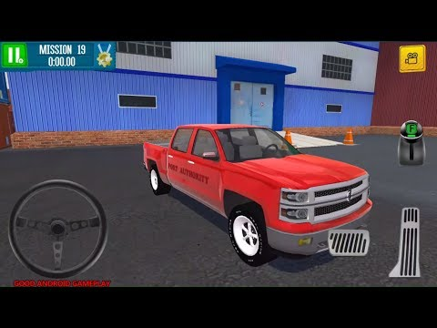 Cargo Crew: Port Truck Driver #3 - Red Pickup Truck Vehicle Unlocked Android GamePlay FHD