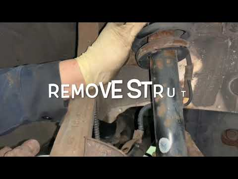 How To Replace Hyundai Sonata Front Struts