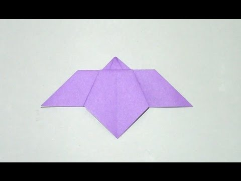 簡単 折り紙 あやめ折り紙 折り方 : youtube.com