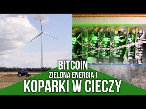 Zielona energia i koparki bitcoin zanurzone w cieczy niskowrzącej od PNT