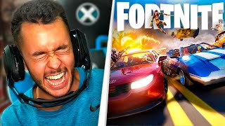 REACCIONANDO A LOS COCHES DE FORTNITE - TheGrefg