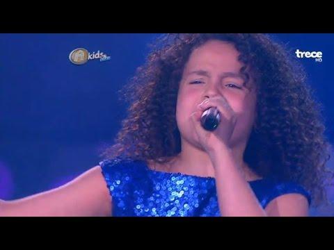 Nicole Gatti  Yo no me doy por Vencido Duelo  GRAN FINAL  Academia Kids lala 2