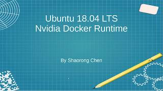 Nvidia docker setup accessing gpu within docker containers