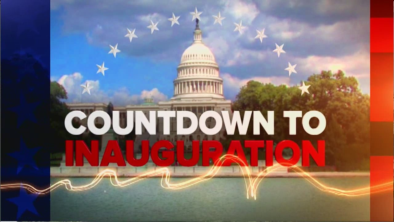 The Countdown To Donald Trump S Inauguration Youtube