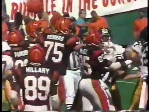 Bengals-Steelers 4th Quarter Sep 17 1989