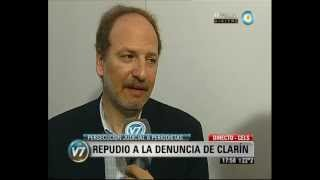 Visión 7: Repudio a la denuncia de Clarín