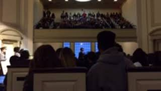 Syracuse University students protest over fraternity's controversial video