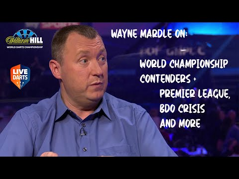Wayne Mardle on the World Championship contenders + Premier League, BDO crisis and more