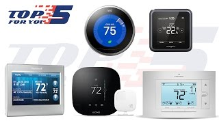 Top 5 Best Wifi Thermostats For Home Use 2017