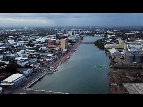 Iloilo City - A Drone, Iconic Bridges & Esplanade (Esplanade Project Update) - 2K HD