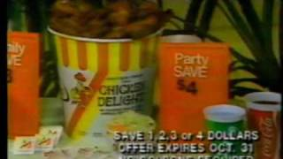Winnipeg - Chicken Delight commercial (1984)